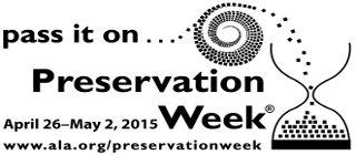 Preservation Week 2015